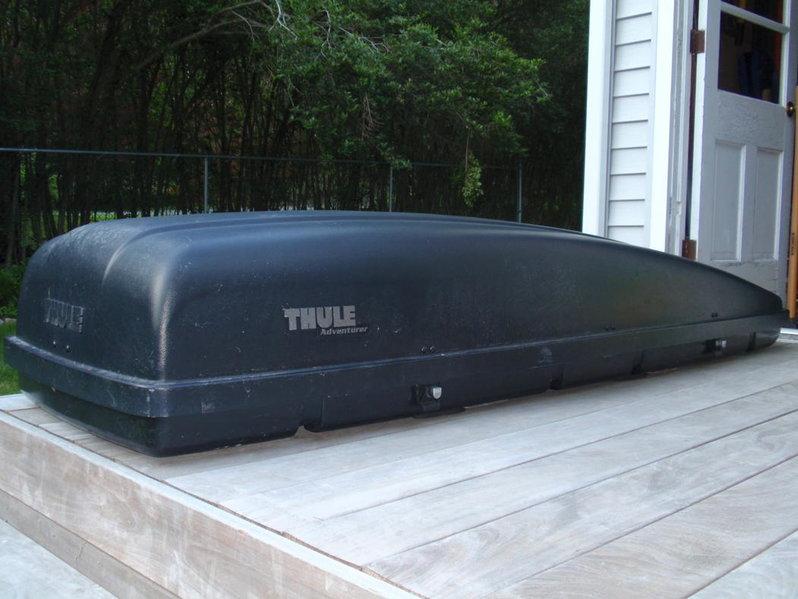 Thule adventurer cargo box manual