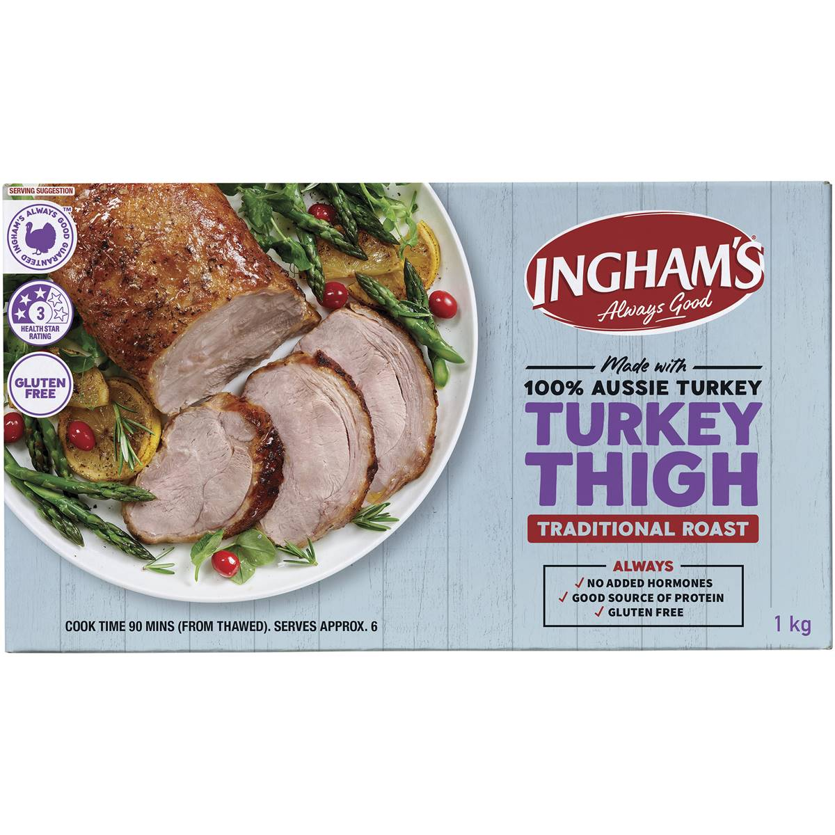 Ingham turkey roast cranberry