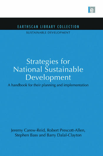 Strategies for sustainable development pdf