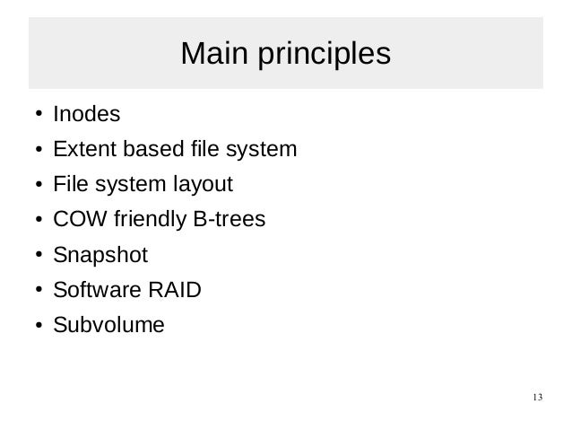Inode structure in linux pdf