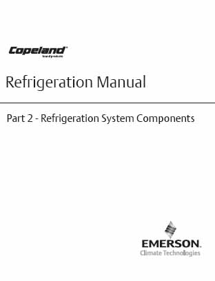 Copeland refrigeration manual part 5