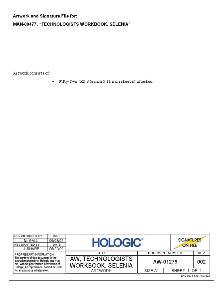 hologic selenia dimensions qc manual