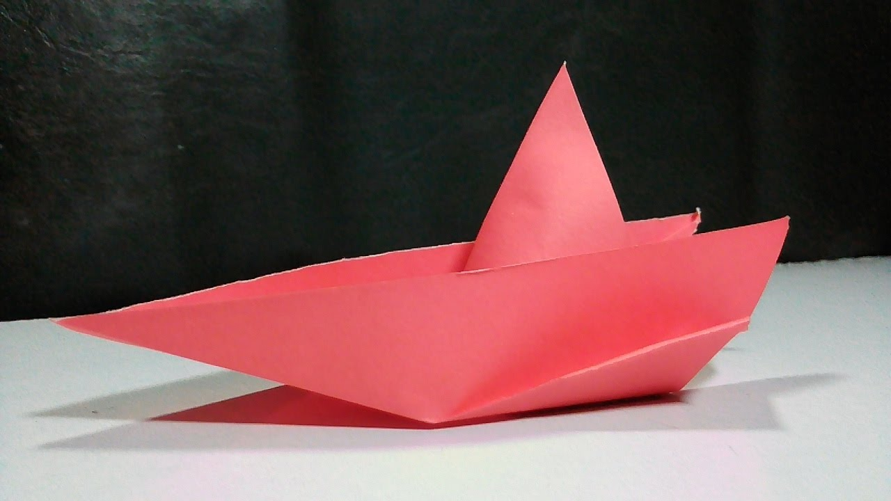 origami speed boat instructions