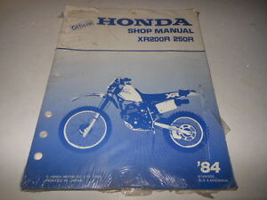1984 honda xr200 repair manual