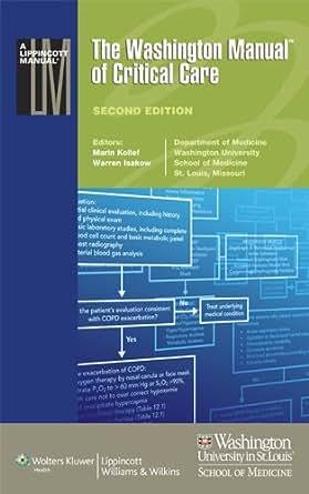 washington manual of medical therapeutics ebook