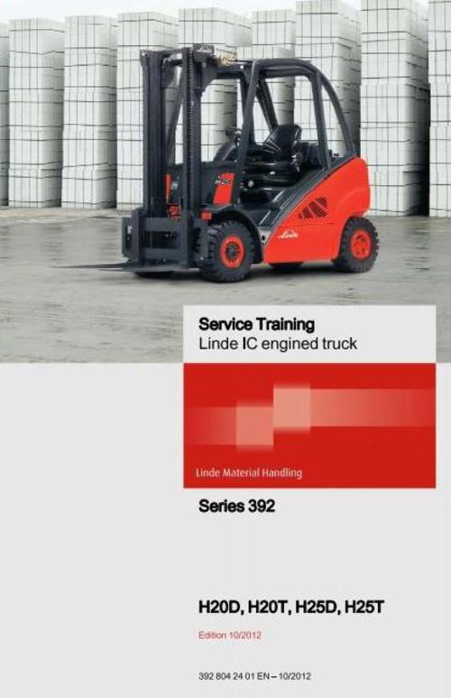 linde h25 forklift service manual