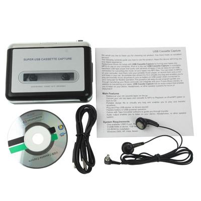 super usb cassette capture instructions