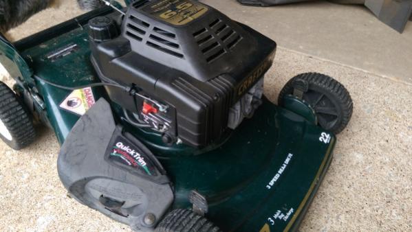 craftsman eager 1 6.5 hp mower manual