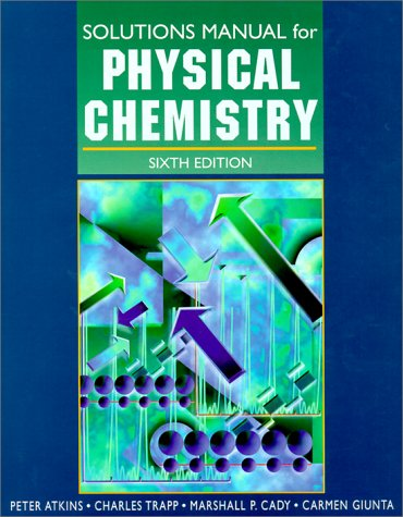 Atkins physical chemistry solutions manual