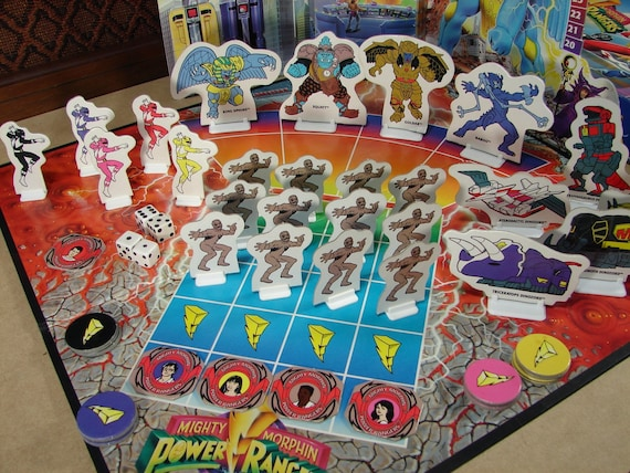 mighty morphin power rangers board game instructions