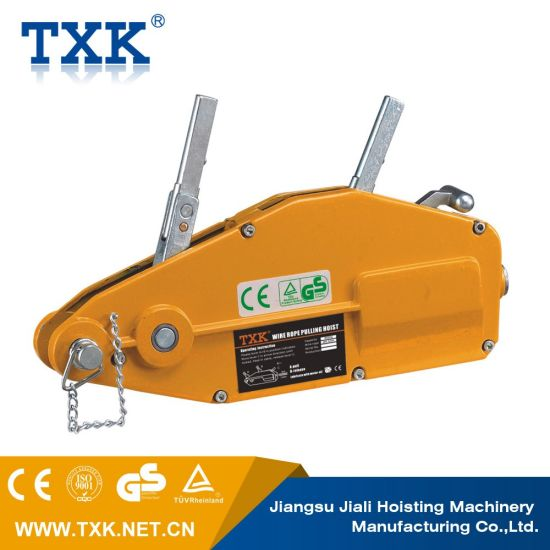 Wire rope puller manual hoist trolley