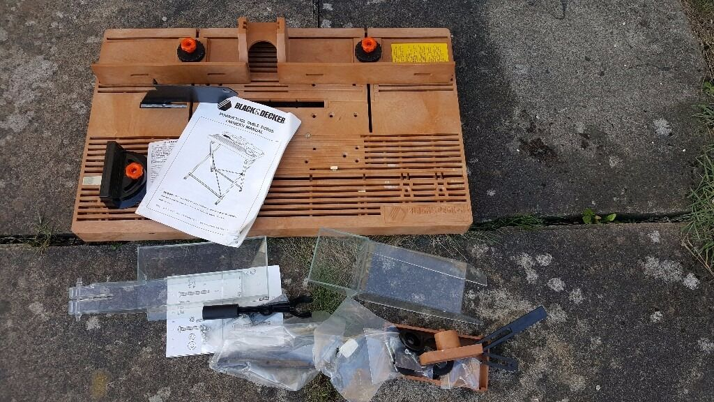 Black and decker table saw manual