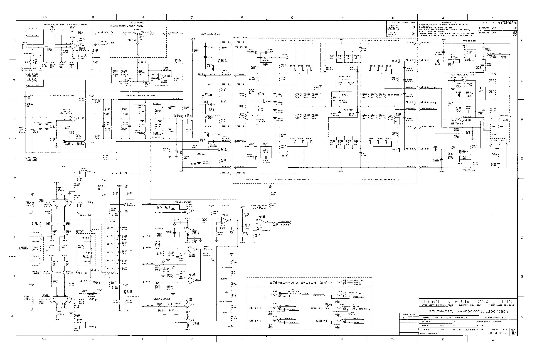 Crown xls 2500 manual pdf