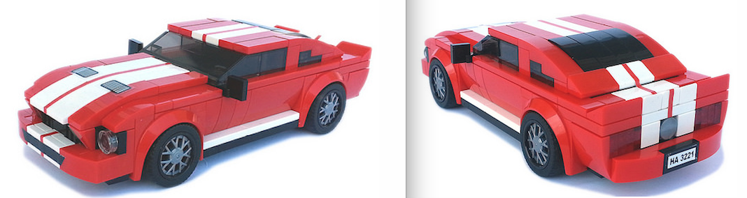 lego ford mustang shelby gt500 instructions