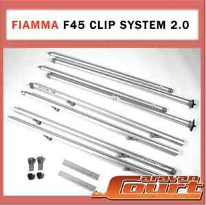 Fiamma f45 clip system instructions