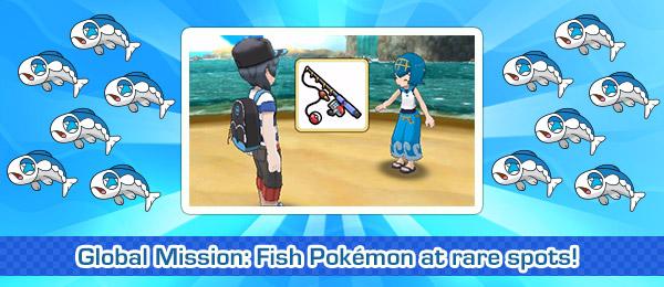 Pokemon sun how to fish