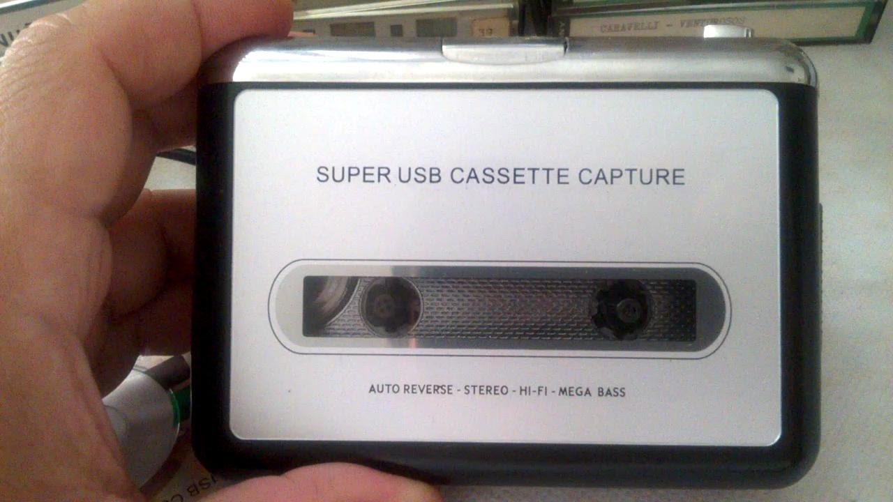 super usb cassette capture instructions