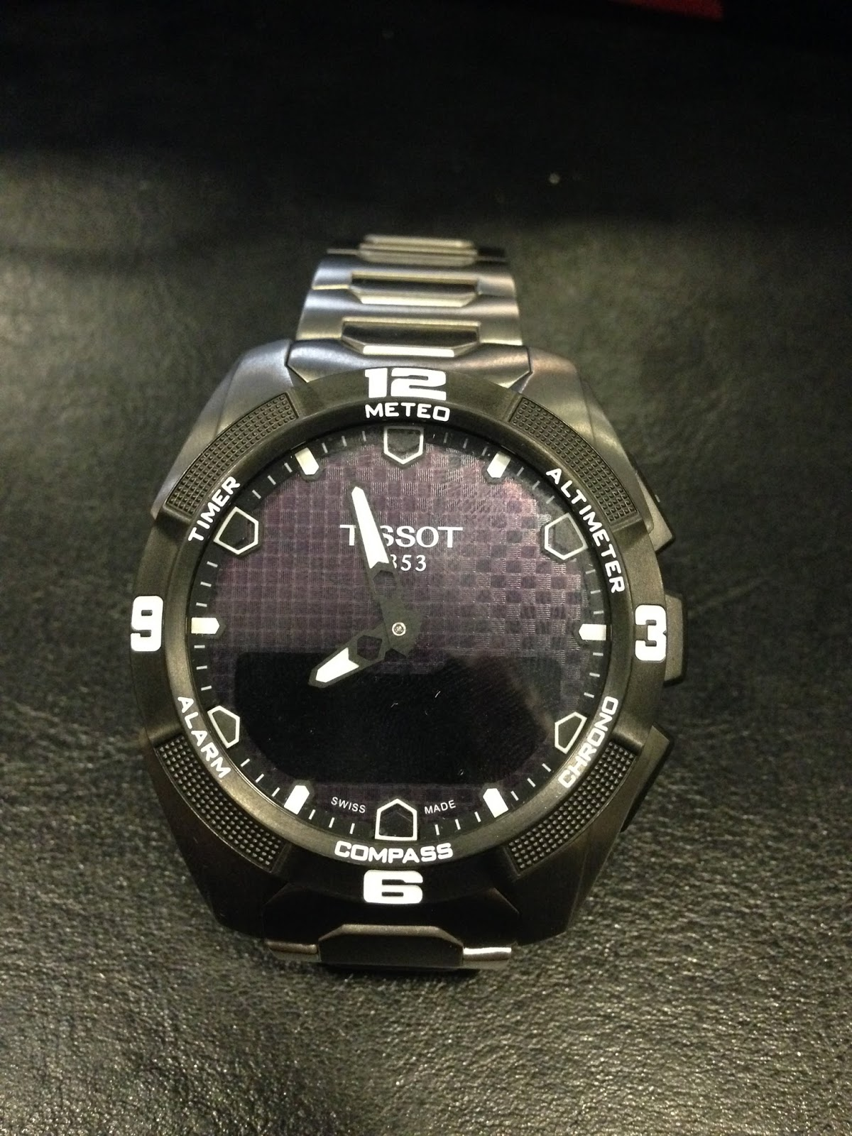 Tissot t touch titanium manual