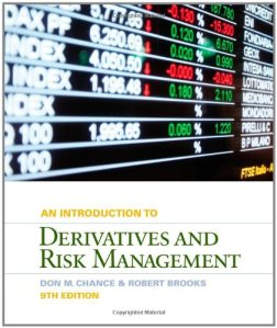 An introduction to derivatives and risk management solution manual