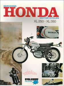 Honda xl 250 service manual pdf