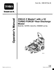 Toro lawn master 53603 manual