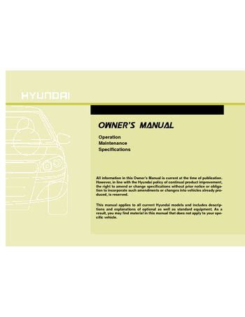 Hyundai i30 repair manual pdf