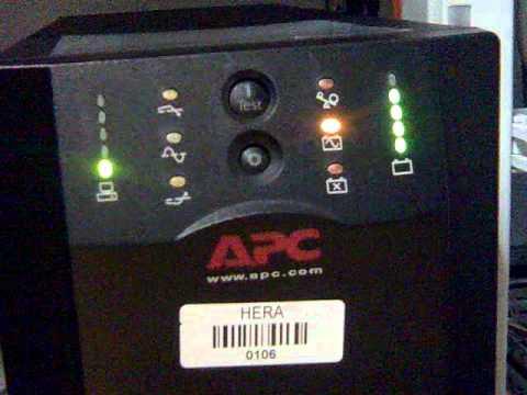 apc smart ups 1500 manual