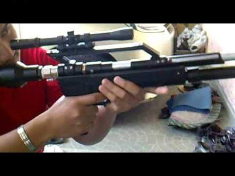 homemade air gun instructions