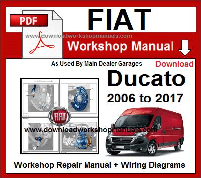 Fiat ducato x250 workshop manual pdf