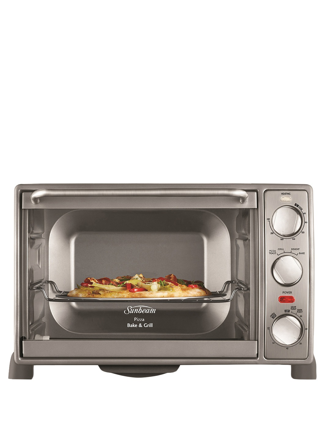 sunbeam pizza bake and grill manual