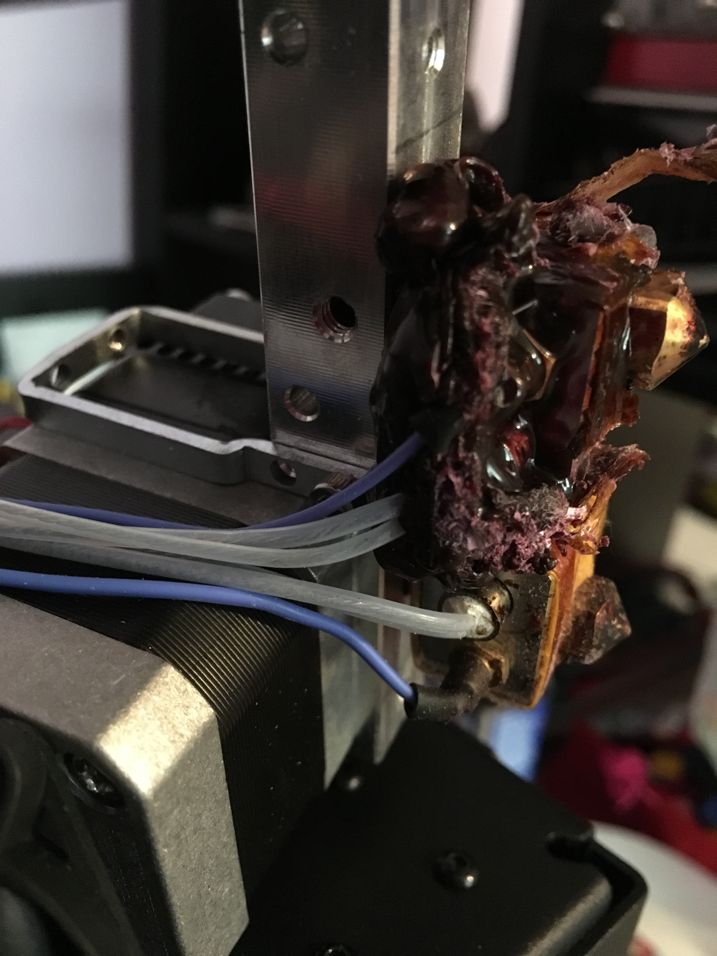 3d printer how to clean nozzle