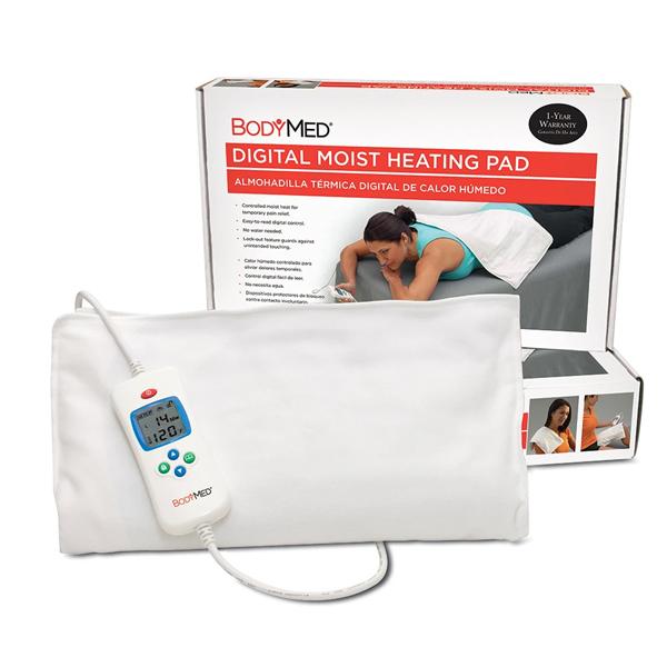 bodymed digital moist heating pad instructions