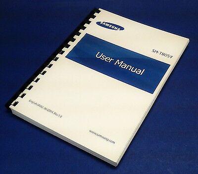 buy printed manual for samsung tab a model sm-t380