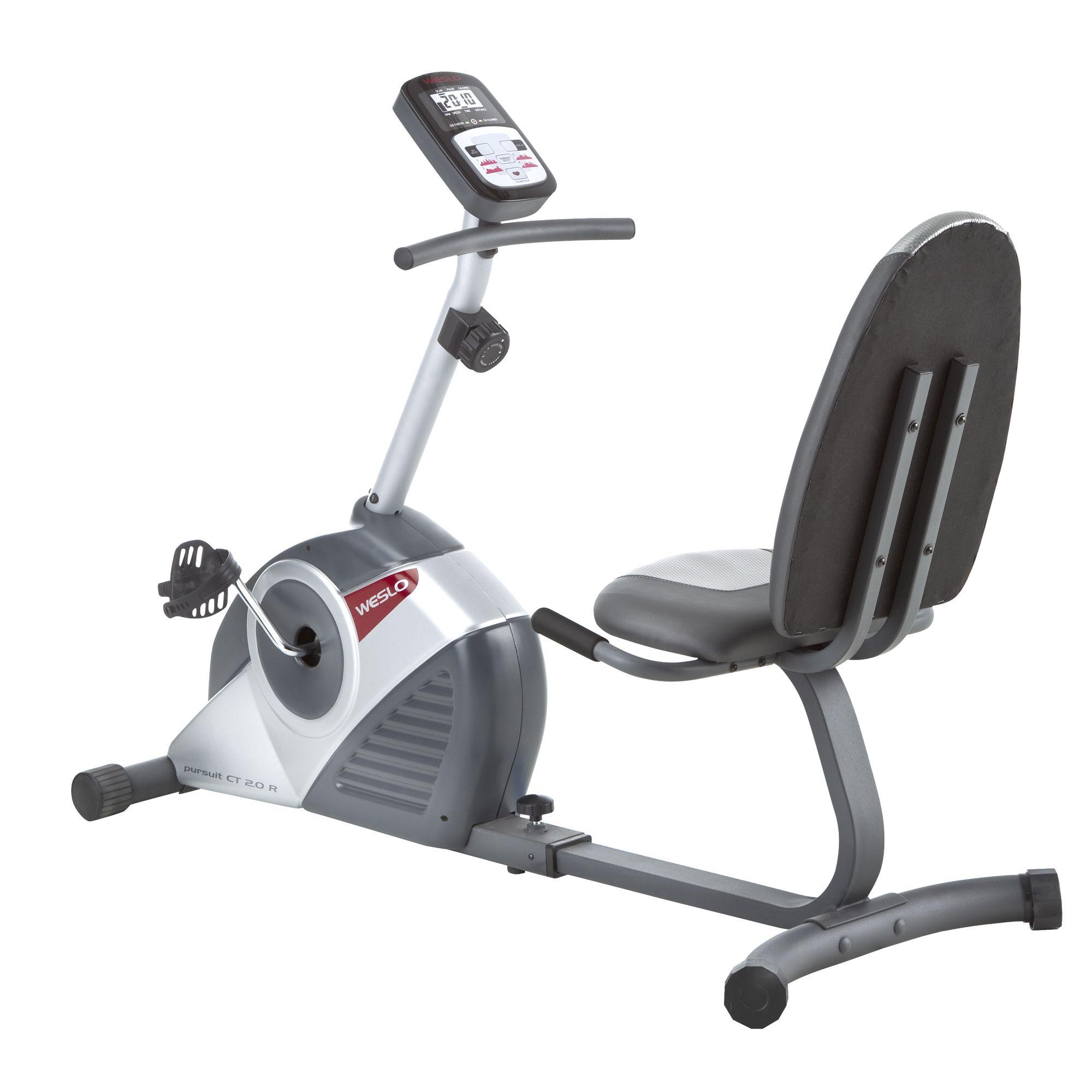 Pt fitness personal trainer recumbent bike manual