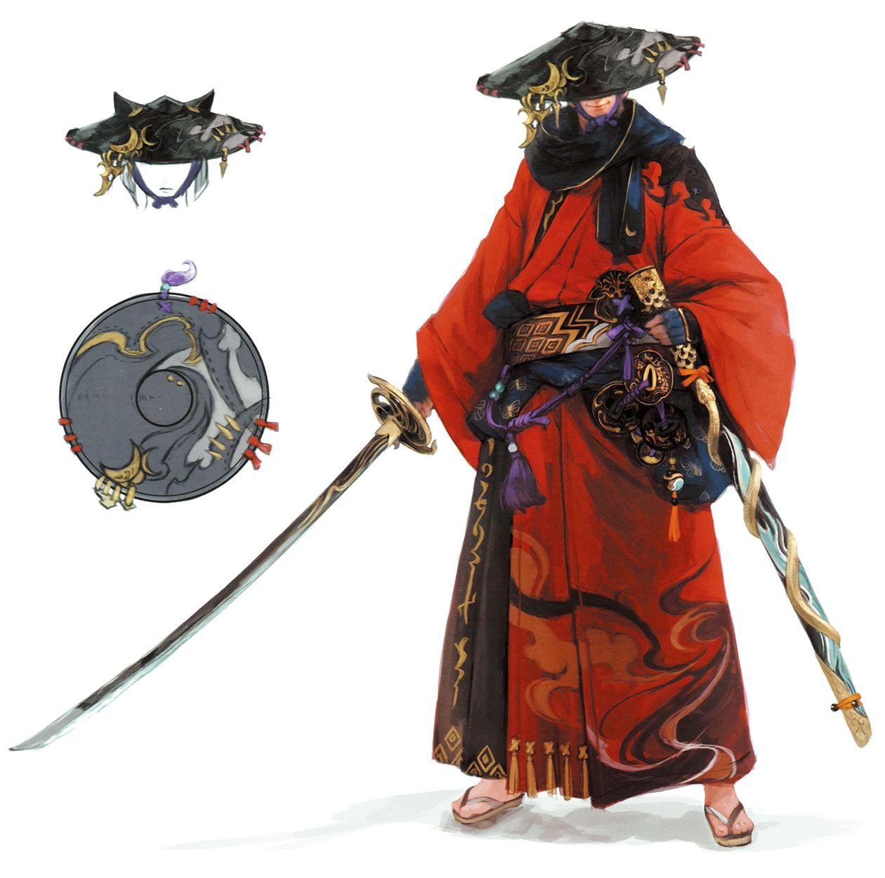 Ffxiv how to become samurai