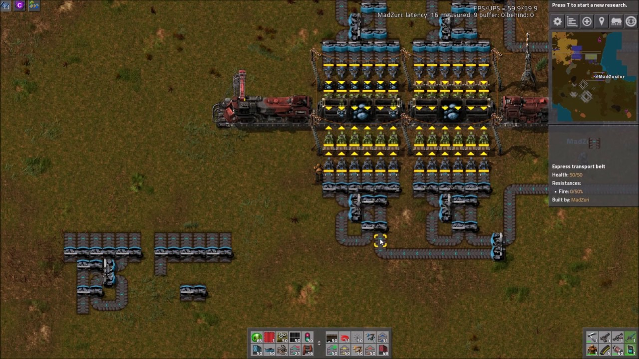 Factorio how to get rail world