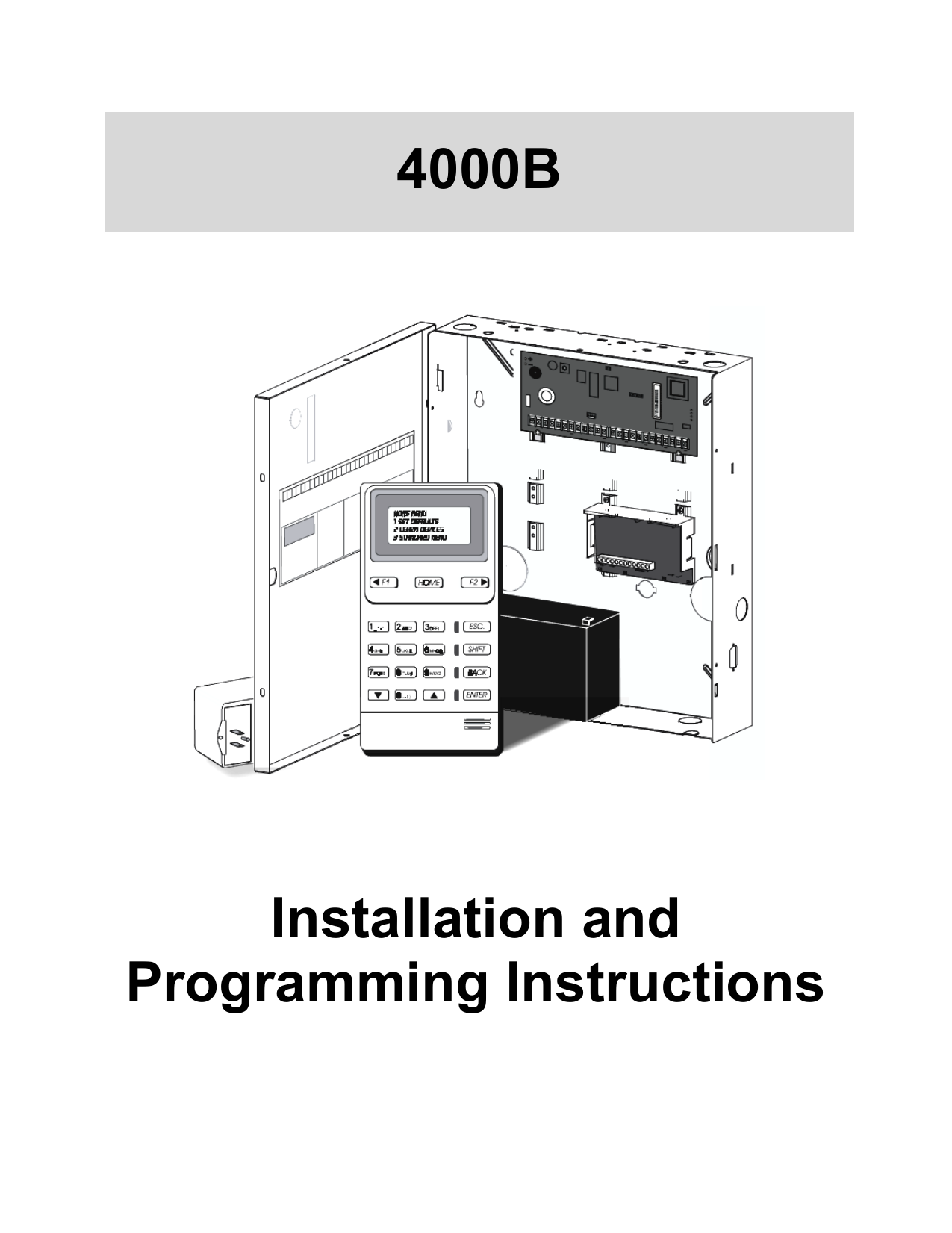 Brinks bhs 4000a installation manual