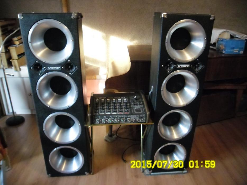 traynor 6400 mixer amp manual