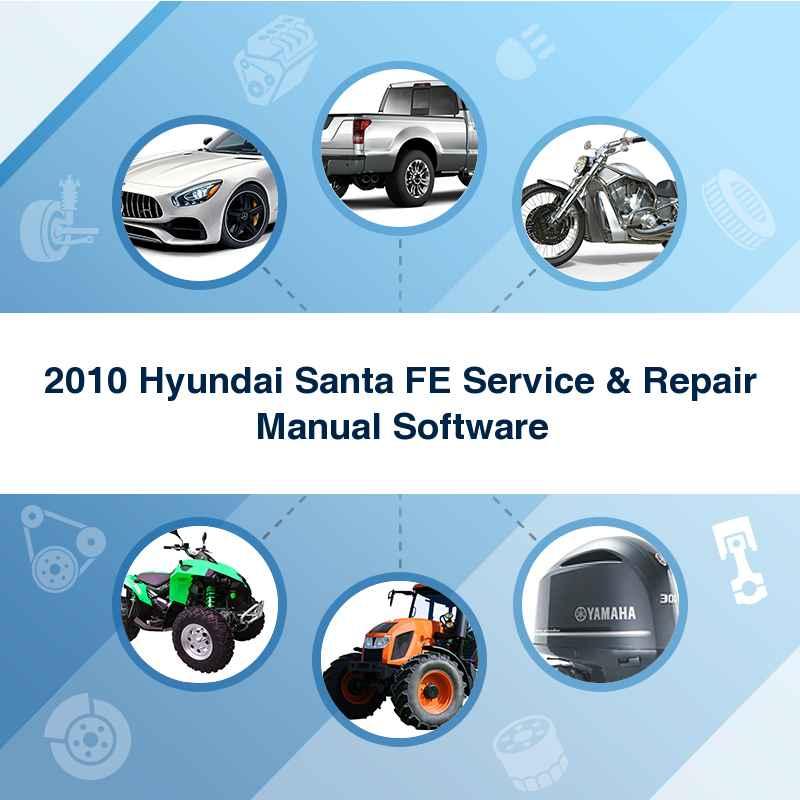 2010 hyundai santa fe repair manual free download