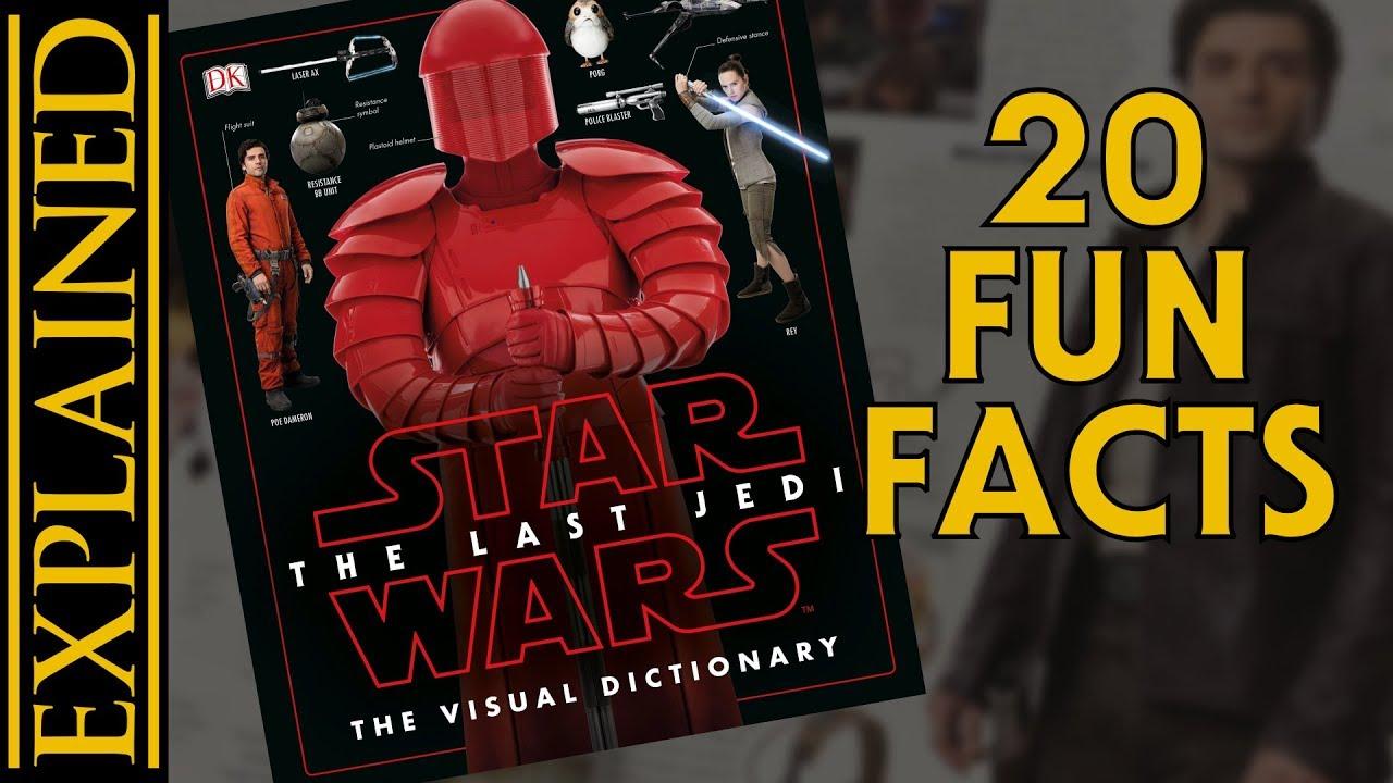 The last jedi visual dictionary leak