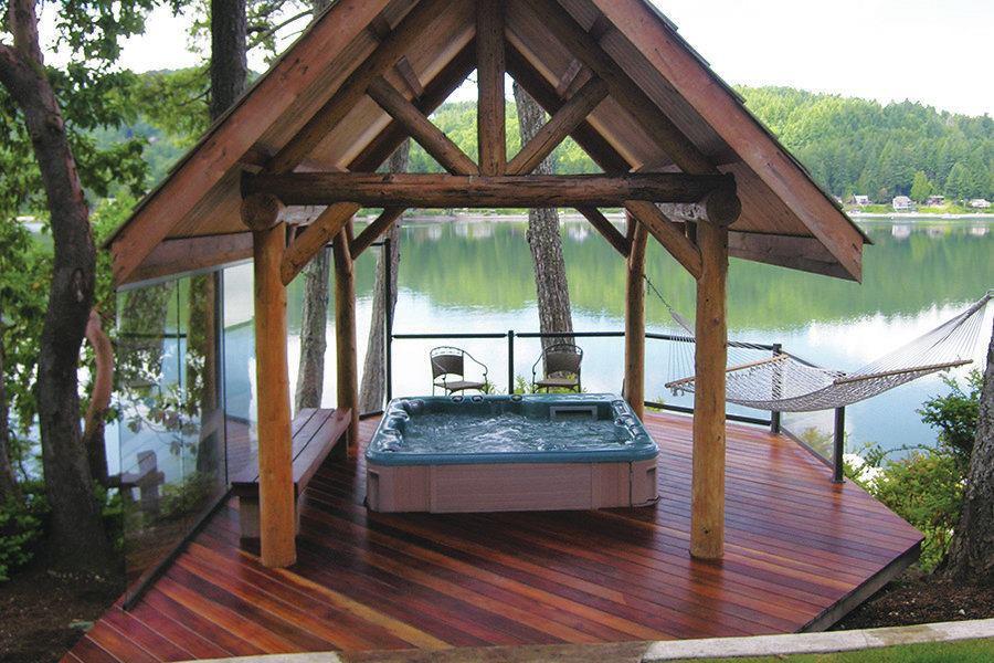 Hot tub deck plans pdf