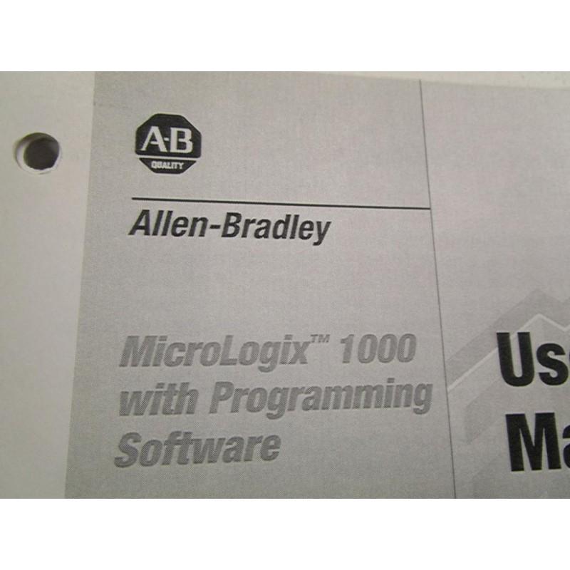 Allen bradley micrologix 1000 manual