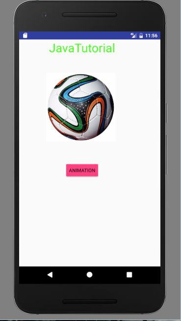Android fragment slide animation example