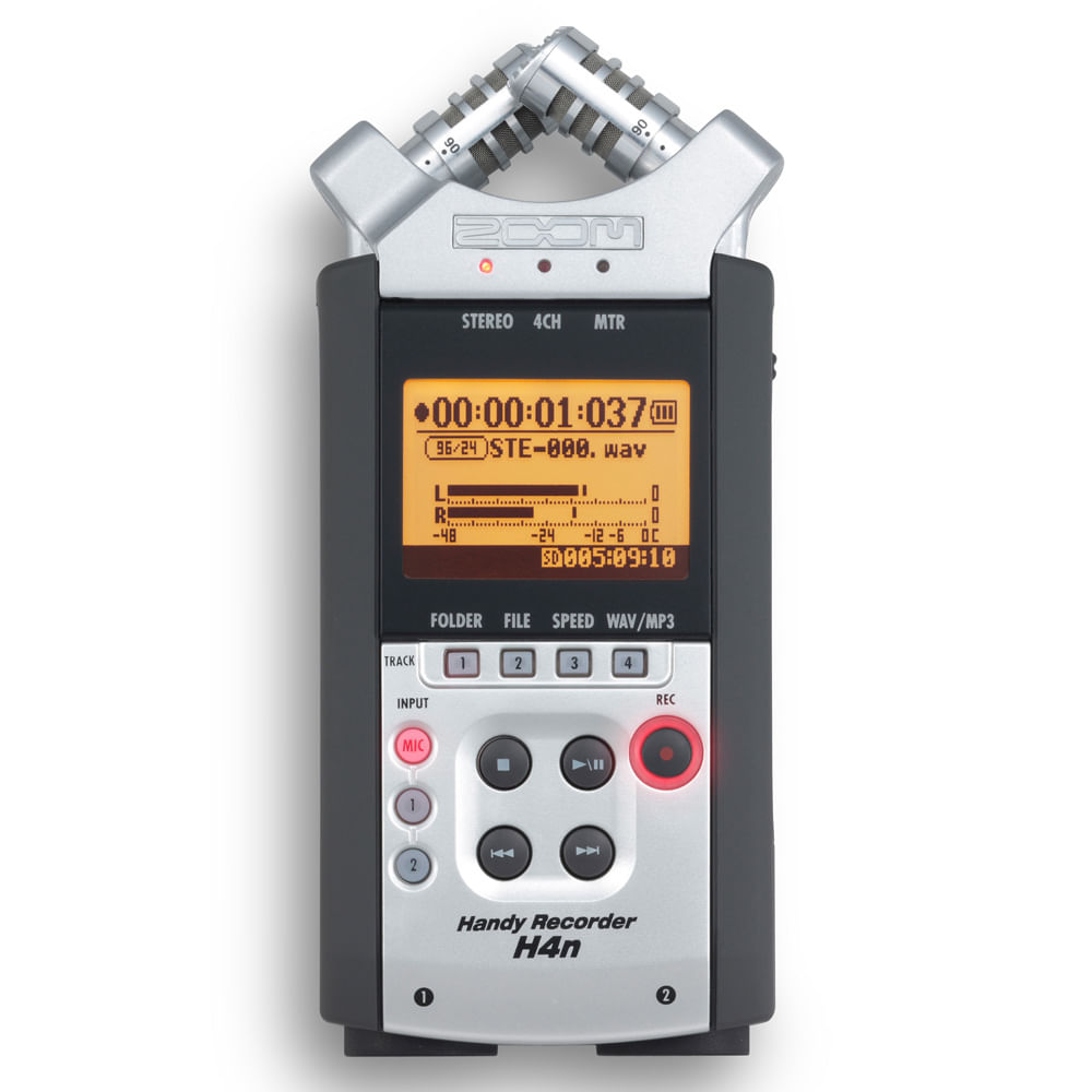 Zoom h4 handy recorder manual