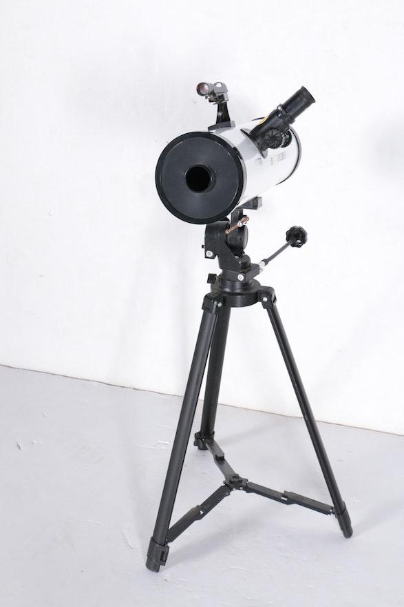 edu science astro nova reflector telescope instructions