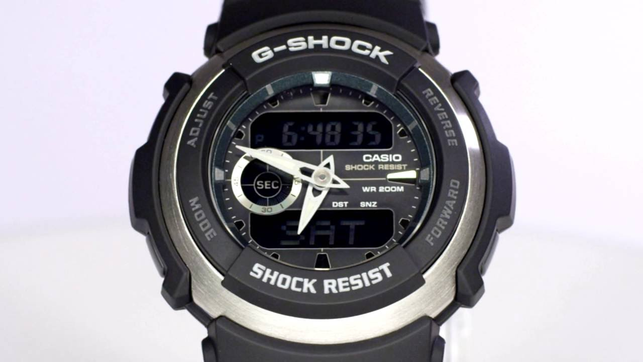 casio g shock g300 manual
