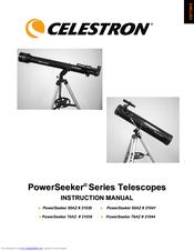 celestron powerseeker 70400 instruction manual in english