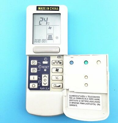 Pye air conditioner remote control manual