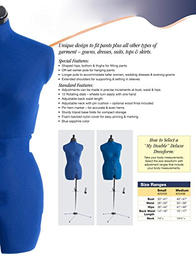 Dritz dress form instructions