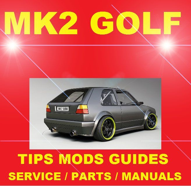 golf mk2 gti service manual